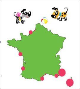 MeinFerienhund - Hundestrände Frankreich